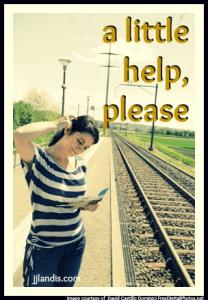 woman help