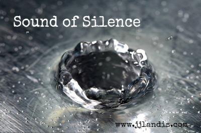 silence water drop
