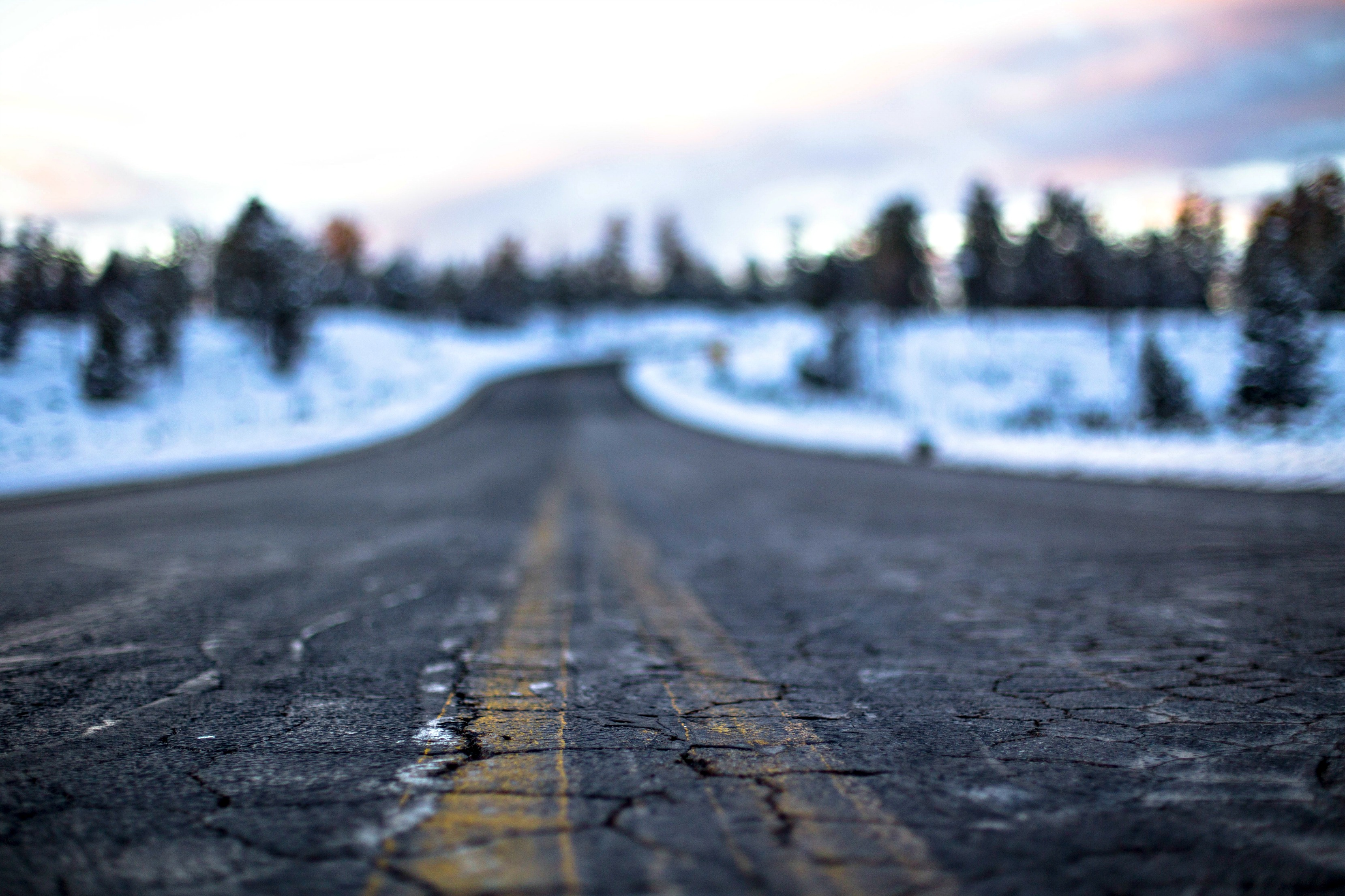 life must be lived winter road