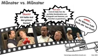 Münster vs. Münster vs. Münster - ein Tatort Triple