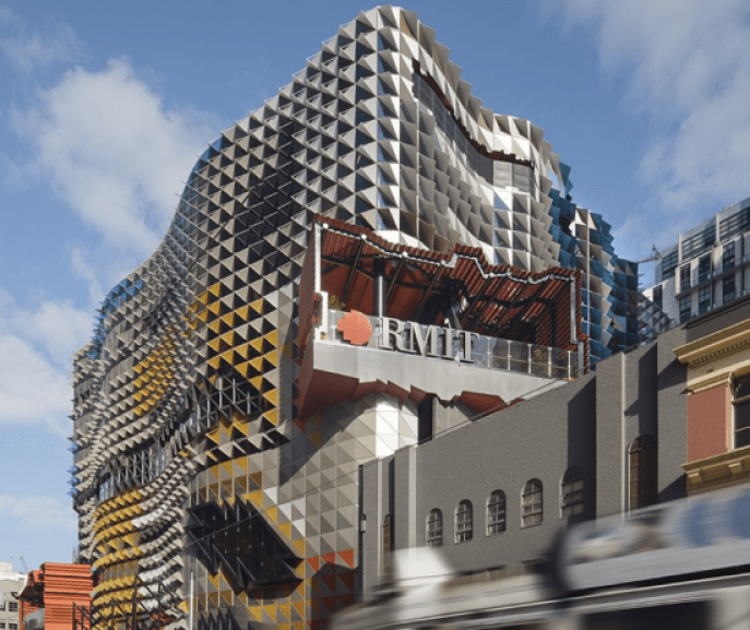 Portales-para-Estudiante-en-RMIT-Swanston-Melbourne-Rush-Wright-Associates-+-Lyons-Architects-2-550x462