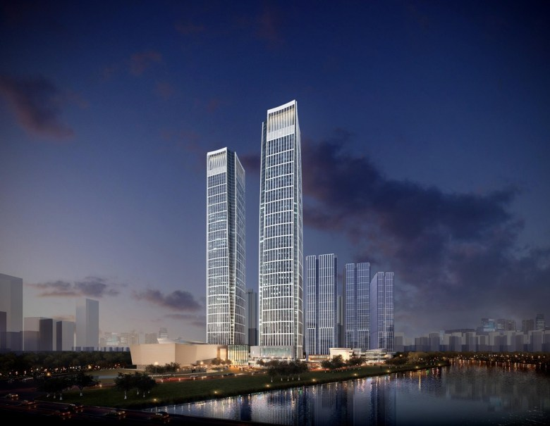 4_tk_elevator_supplies_24_twin_elevators_to_forte_financial_island_iv_in_chengdu_china_1