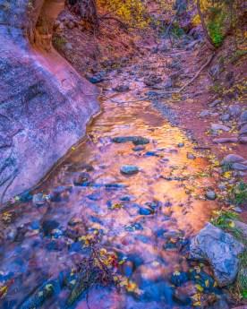Canyon Reflections - Kanarra Creek Canyon, UT © jj raia