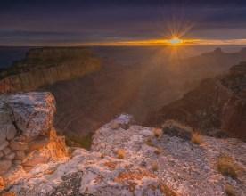 Clearing Storm - Cape Royal, Grand Canyon, AZ © jj raia