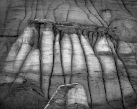 The Columns, Bisti Badlands, NM © jj raia
