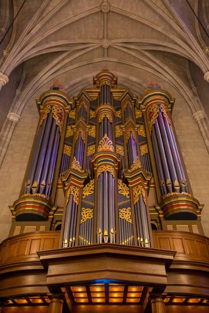 Organ - Duke Chapel No. 1 — Duke University Campus, NC © jj raia