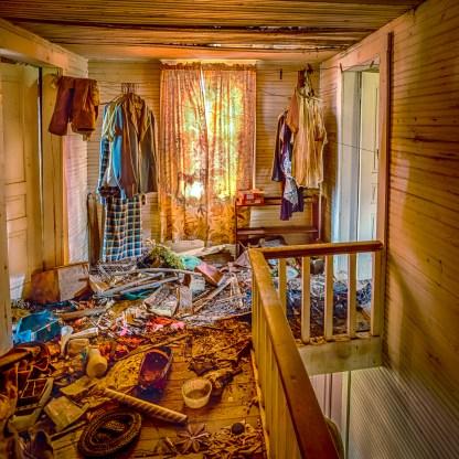 Upstairs Hall - Abandoned Home — © jj raia