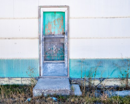 Doorway — Arco, Idaho © jj raia