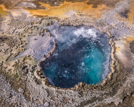 Hot Spring — Upper Geyser Basin © jj raia