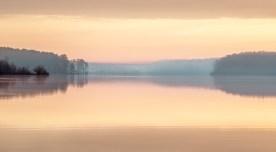 Pastel Morning — Jordan Lake, NC © jj raia