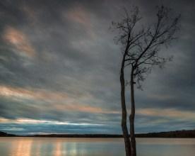 Watercolor Clouds — Jordan Lake © jj raia