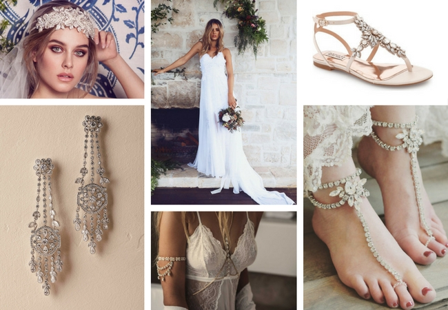 Selecting A Wedding Gown And Bridal Accessories