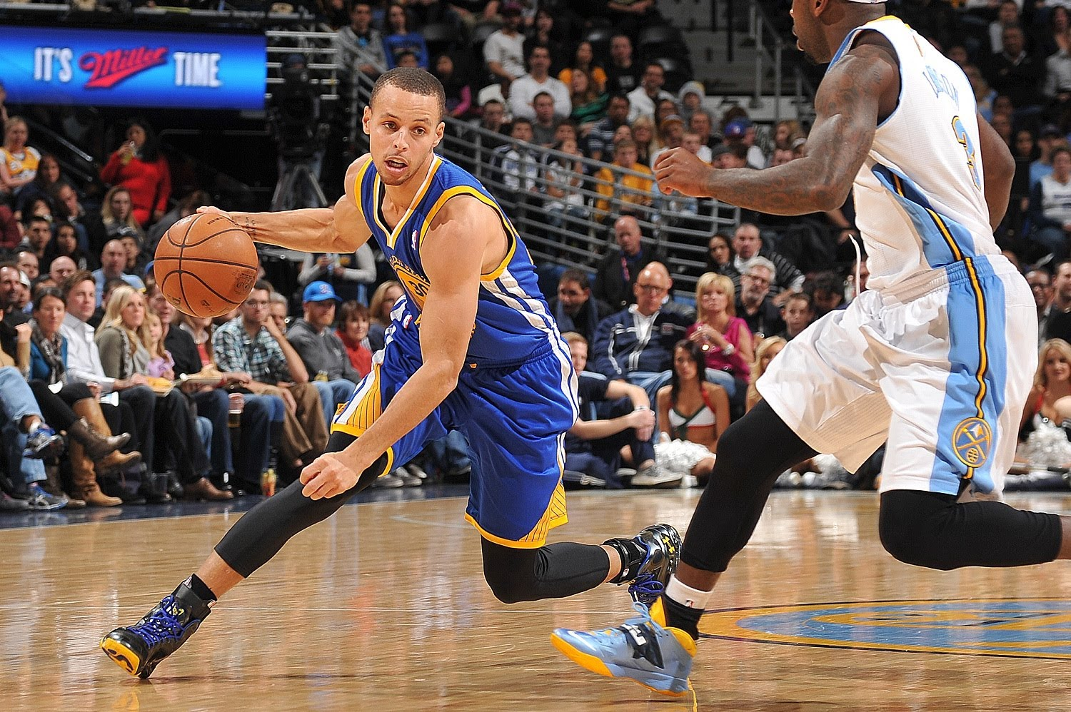 Curry Crossover Dribble