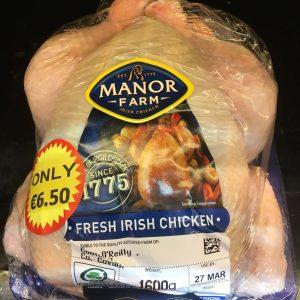 1600g whole chicken