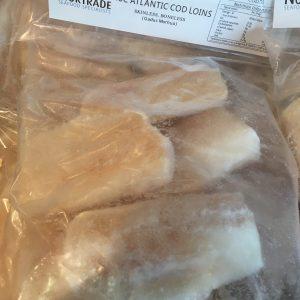 1kg atlantic cod loins