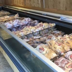 Frozen preapacked meat