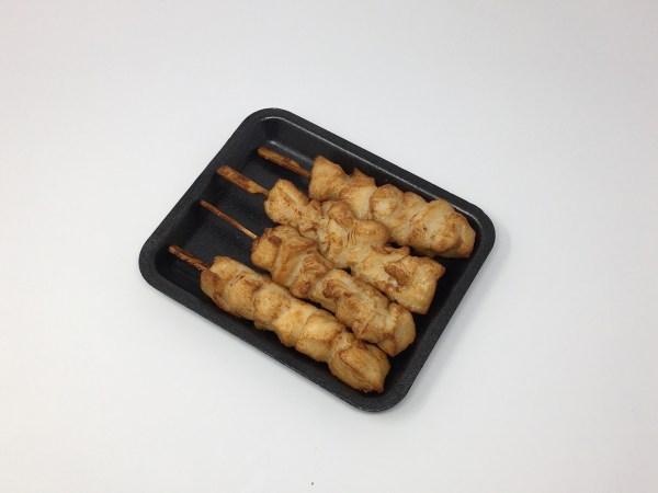 Cooked Chicken Skewer Plain