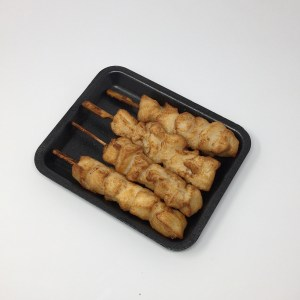 Cooked Chicken Skewer Plain