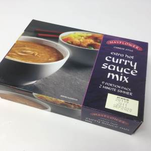Extra hot curry sauce mix