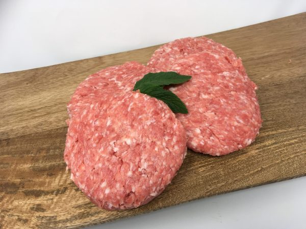 dry aged steak burgers
