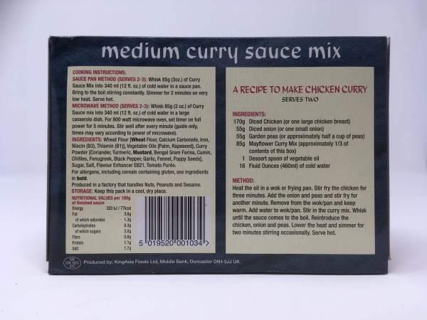 Medium curry sauce mix