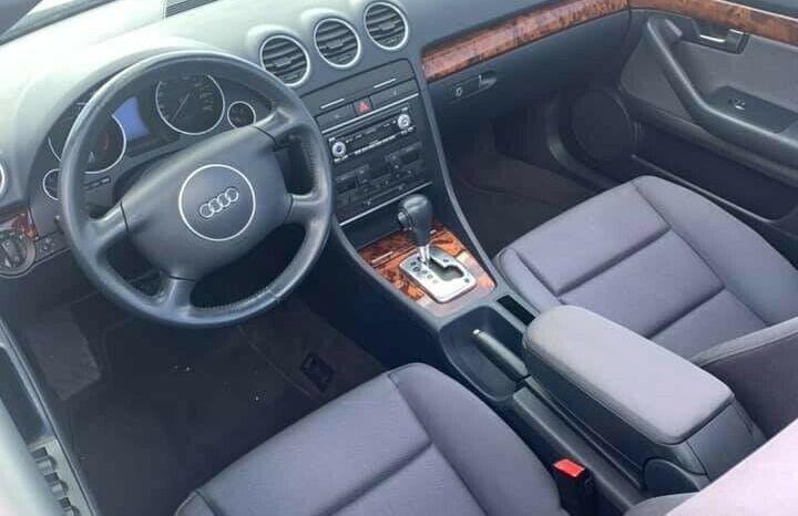Audi A4 2,4 V6 Cabriolet full