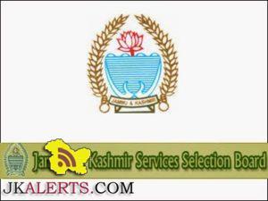 JKSSB Recruitment 2016 Total Vacancies 1184