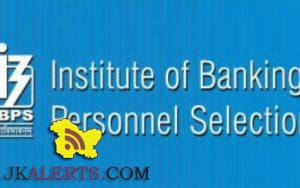 IBPS Specialist Officer Prelims Score Card Released.