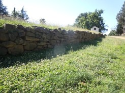 Original Stone Wall from Civil War