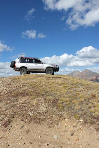 Top of Santa Fe Peak