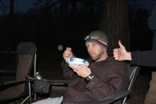 Thumbs Up for Dutch Oven Cobbler