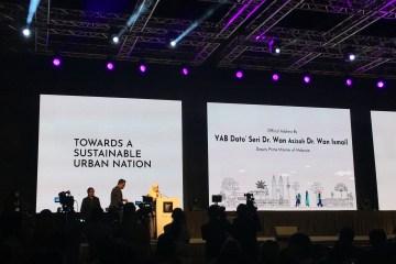 Datuk Seri Wan Azizah Wan Ismail - Deputy Prime Minister of Malaysia at Malaysia Urban Forum