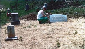 Jean at Redbluff Cemetery