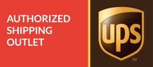 UPS Authorized Shipping Outlet Logo