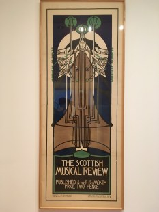 """Prime example of Art Nouveau design by Mackintosh. The font has a striking resemblance to that used in the logo for """"America Horror Story"""""""