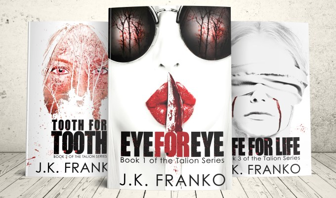 Life for Life – The Eye for Eye Trilogy is complete!