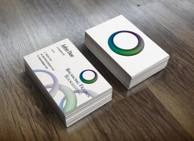 Balancing Figures Bookkeeping - Business Cards