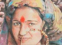 Beautiful Garhawali Lady - 1st to 8th July 2008