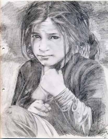 Beautiful Garhawali Child - 26 August 2005 - 11:15am to 4:15pm - Raebareli