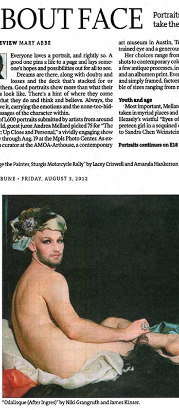 Minneapolis Star Tribune: About Face