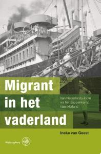 Migrant in het vaderland Boek omslag