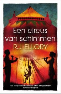 Een circus van schimmen Boek omslag