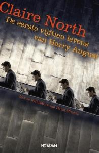 De eerste vijftien levens van Harry August Boek omslag