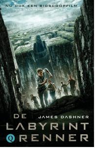 De labyrintrenner Boek omslag
