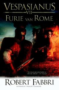 Furie van Rome Boek omslag