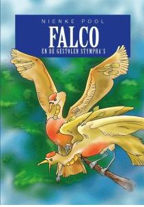 Falco en de gestolen stympha's Boek omslag