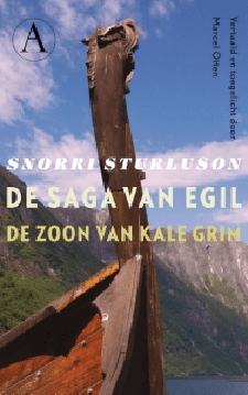 De saga van Egil Boek omslag