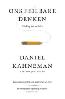 Ons feilbare denken Boek omslag