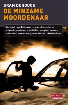 Boek Cover De minzame moordenaar