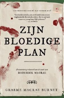 Zijn bloedige plan Boek omslag